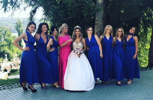 Nuntă cu TRADIȚII MOLDOVENEȘTI și invitați din 12 ȚĂRI! Vezi mireasa care a dansat Dansul din buric