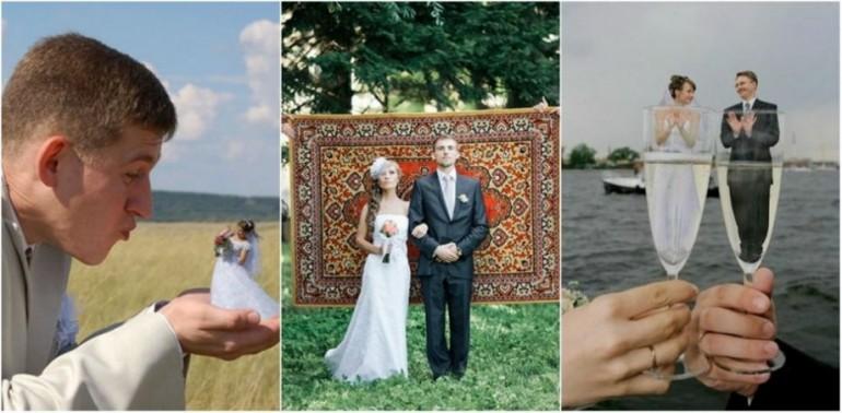 Cele mai amuzante fotografii de la nunțile rusești care au cucerit internetul!