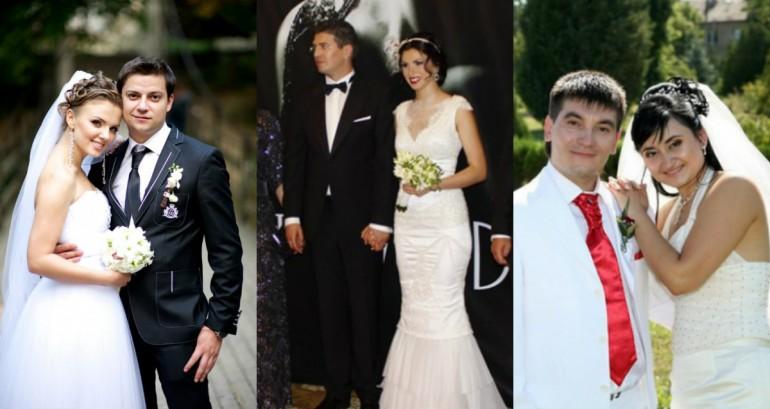 (Foto) Cum au arătat vedetele de la noi în ziua nunții? De la Corina Țepeș la Nicu Țărnă