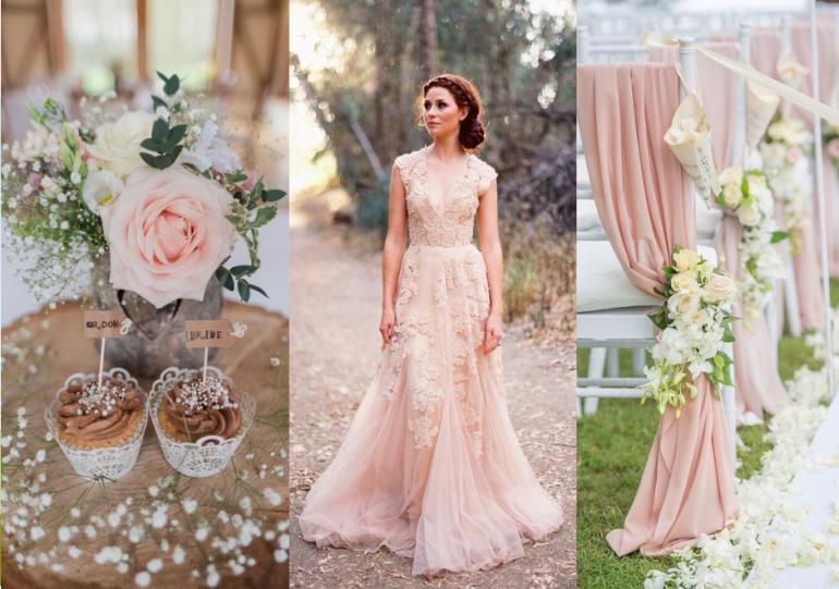 Tematica nunții tale: culoarea ROZ