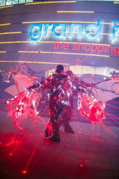 Spectacol de lumini și lasere de la FireShow