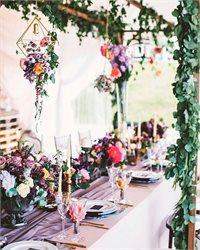 BOHO wedding - de la