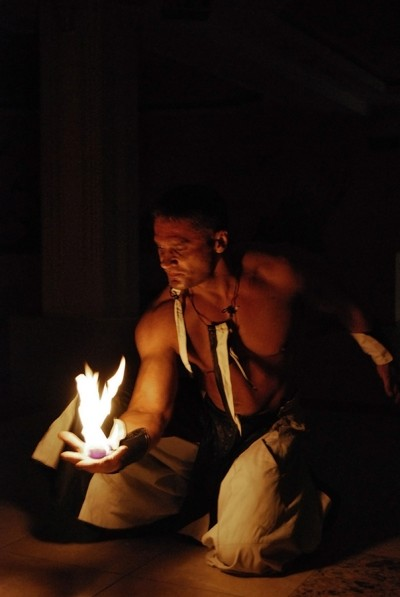 Show feeric de lumini realizat de FireShow