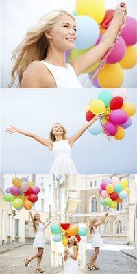 Baloane cu heliu de la