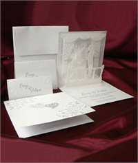 Invitații de nuntă handmade de la
