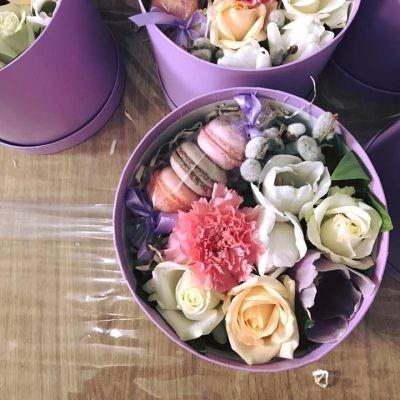 Cutie Mix Cu Macarons oferită de Bantik.md