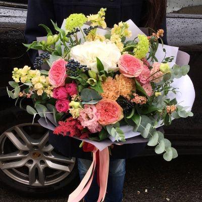 Eucalipt Bouquet realizat de Bantik.md