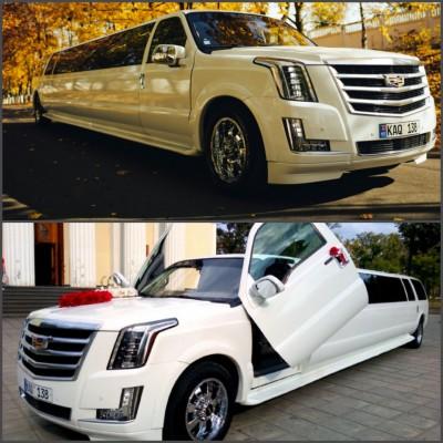 Роскошный лимузин Cadillac Escalade 2017 от Limos