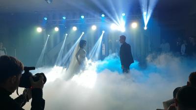 Spectacol formidabil de lumini de la Nunta Show
