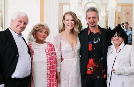 Фото: Kак прошла церемония бракосочетания Ксении Собчак и Константин Богомолова