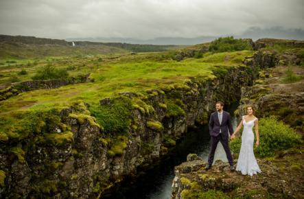 Cum arată pozele de nuntă din cea mai spectaculoasă locație din lume - Islanda