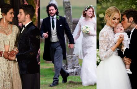 10 cele mai frumoase și discutate nunți ale anului 2018