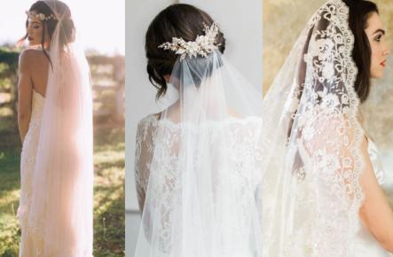 Cum să alegi VOALUL  perfect de mireasă + 12 modele minunate