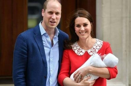 (Foto) Cum arată bebelușul Prințului William și Kate Middleton!