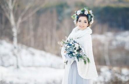 Machiaj de iarnă la nuntă: 5 idei minunate