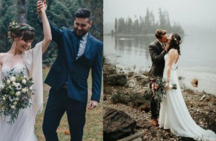 Tematica nunții: culoarea VERDE ÎNCHIS