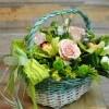 Coș cu flori Euforie
