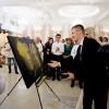 Moment special la nunta  - Portret cu pulbere de aur