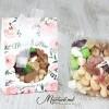 Mărturii de nuntă - cutiuță cu fructe uscate și  nuci NF-005