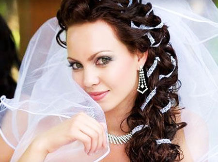 Подбираем идеальную свадебную прическу
