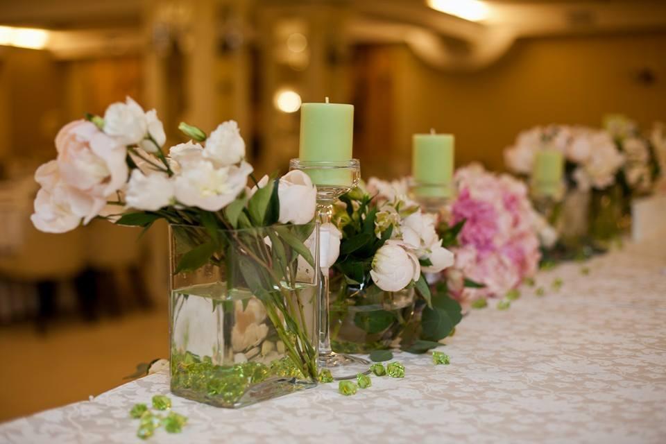 Wedding inspiration: зеленые и лесные мотивы