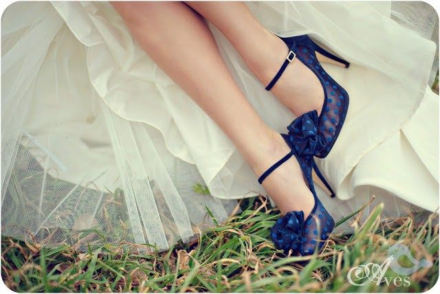 Свадебные туфли: в 2016 выбирайте смелые цвета