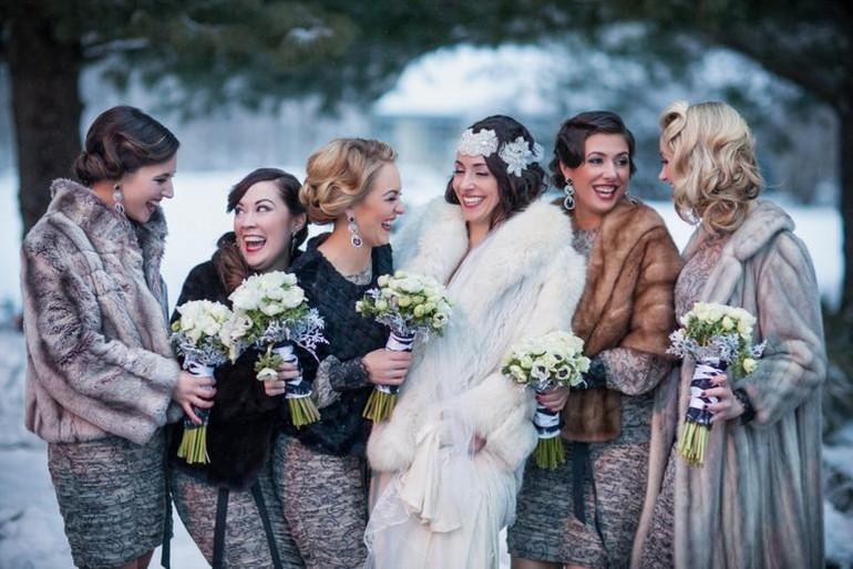 Avantajele unei nunți organizate  iarna