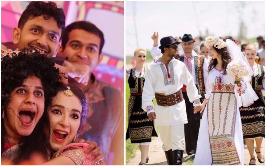 (FOTO) Impresionant: Vezi cum au sărbătorit un cuplu moldo-indian două nunți cu tradiții