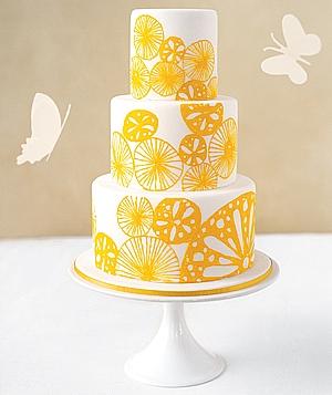 15 нежных тортов для весенней свадьбы
