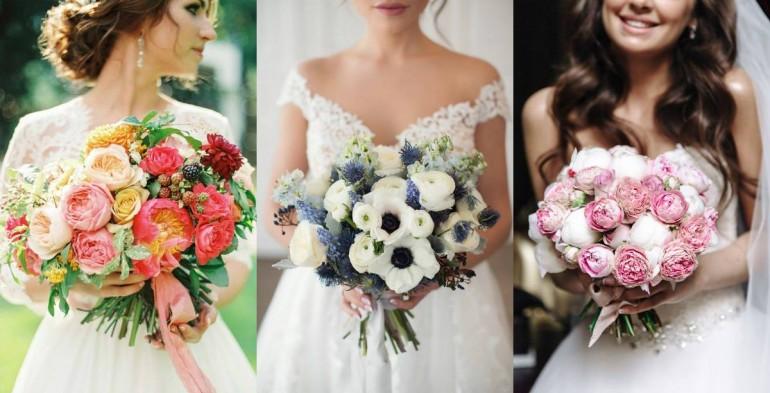 (Фото) Цветочное вдохновение: 30 самых красивых букетов невесты