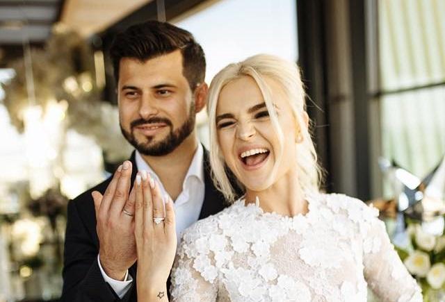 Daniela Ciocanu a mărturisit de ce s-a cununat abia DUPĂ 9 luni de la căsătoria civilă