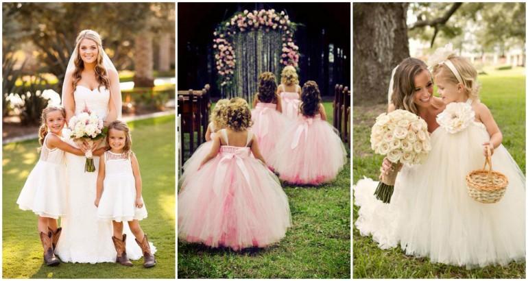 Copiii – invitați la nuntă. Ce faci ca să se simtă bine?