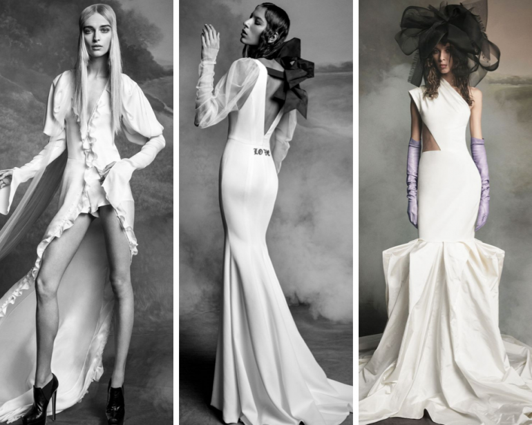 Новая коллекция свадебных платьев Vera Wang: для самых смелых невест