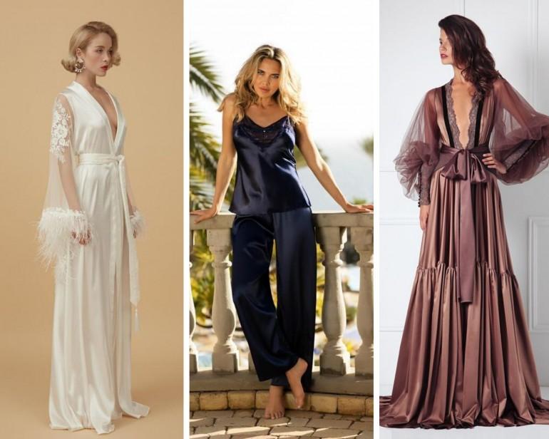 Pijamale și cămăși perfecte pentru noaptea nunții