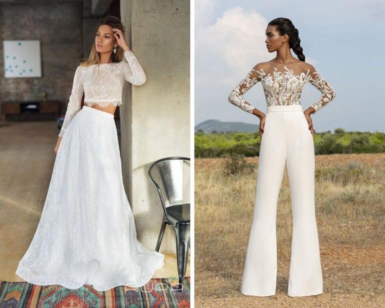 Ce îmbraci în ziua nunții, dacă nu rochia de mireasă?
