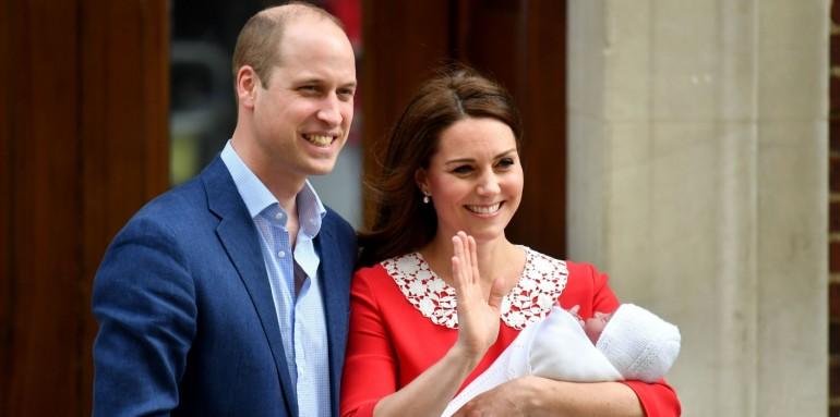 Cum se va desfășura botezul prințului Louis, fiul prințului William și a lui Kate Middleton