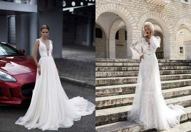 За счастьем напрямик  кому подойдет прямой фасон свадебного платья
