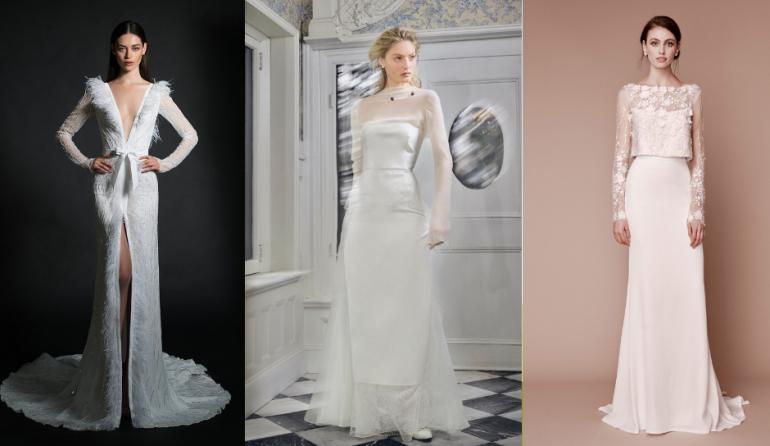 Îți faci nunta în sezonul rece? Vezi 10 modele de rochii cu mâneci lungi!