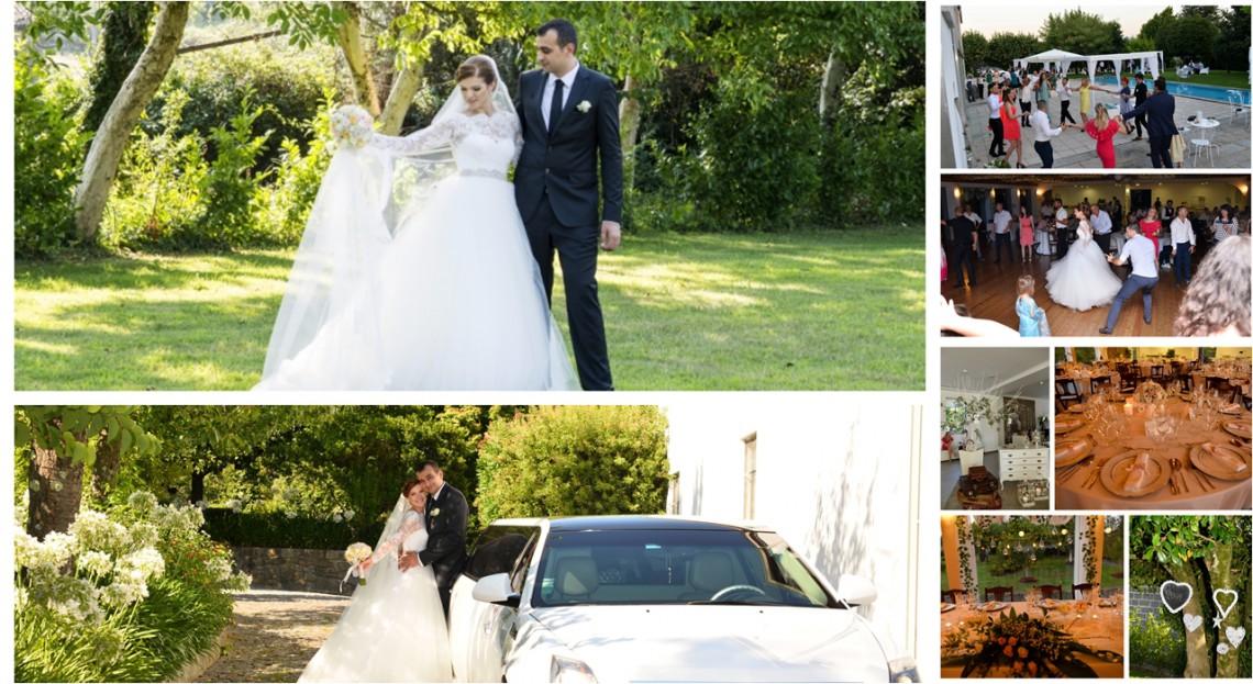 (Foto) Au adunat toate rudele de prin toate colțurile Europei și au jucat  o nuntă de poveste cu tradiții și dansuri moldovenești… în Portugalia.