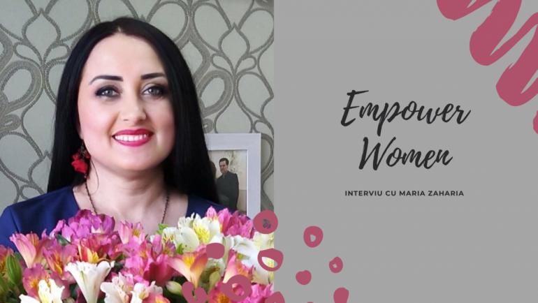 #EmpowerWomen cu Maria Zaharia: cum să lași un job la cea mai mare patiserie din țară și să lansezi design-uri de daruri unice
