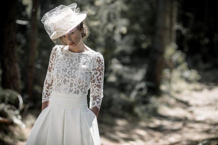 Pălăria – accesoriul chic în ținuta miresei