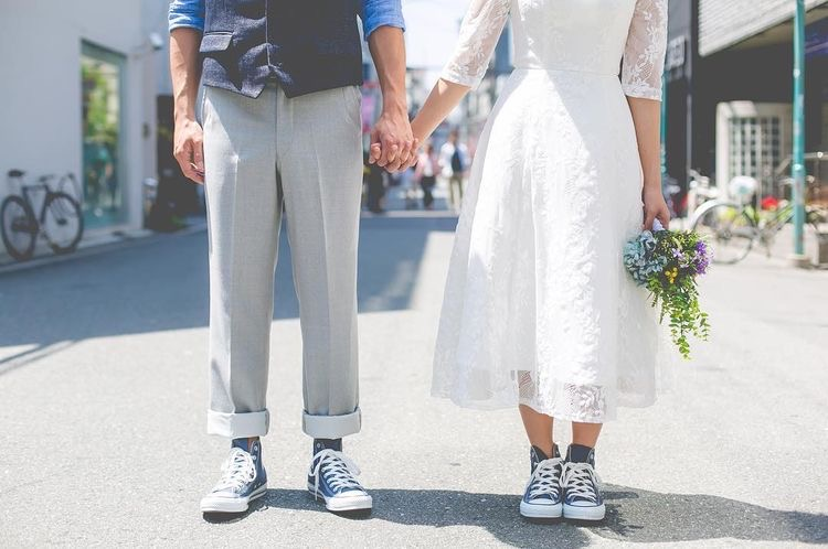Sneakeri în ziua nunții: da sau nu?