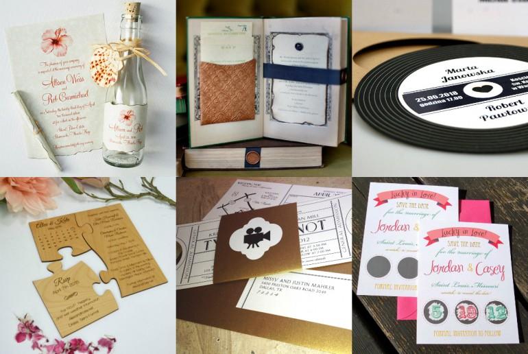 10 idei de invitații de nuntă unice care vă vor impresiona și intriga oaspeții