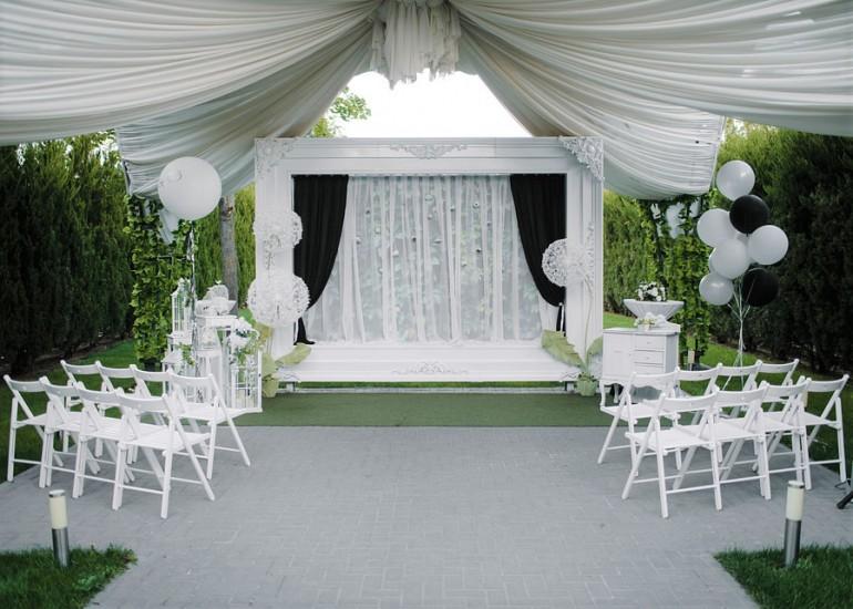 Ресторан для проведения свадьбы с террасой- Ресторан Select