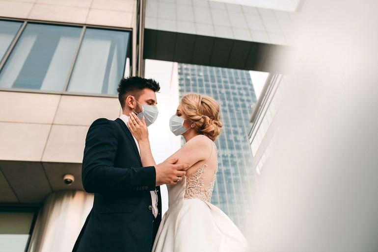 Orașul în care miresele au protestat pentru că pandemia a anulat nunțile