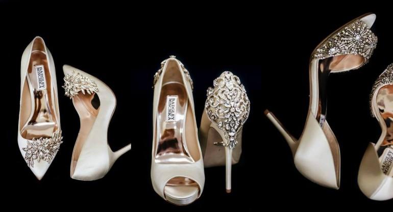 Kак подобрать обувь под свадебное платье