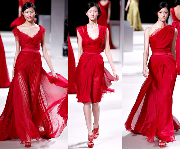 Секреты красных платьев и самые роскошные модели 2014 года