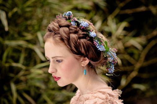 Невесты с косичками - 10 красивых вариантов