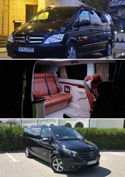 """Mercedes-Benz V-Class, Viano, Vito EXCLUSIVE de la """"Pasager.md"""""""