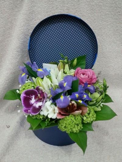 Flori în cutie